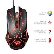 <b>Trust</b> Gaming 22332 <b>GXT 160 Ture</b> Illuminated Gaming Mouse, 250 ...