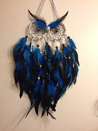 letscatchdreams <b>Dream Catcher</b>- Night <b>owl</b> Blue <b>Dream Catcher</b> ...