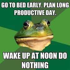 Foul Bachelor Frog - Productive Day via Relatably.com