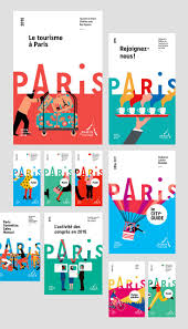 best ideas about poster layout print design new logo and identity for paris convention and ors bureau by grapheacuteine