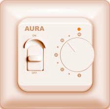 <b>Терморегулятор AURA LTC 230</b> кремовый LTC 230krem: купить ...
