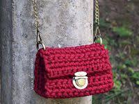 62 Best crochet bags images | Crochet, Knitted bags, Crochet purses