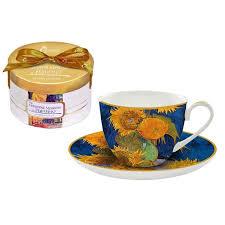 <b>Чайная пара Carmani</b> «Подсолнухи» купить по низкой цене в ...