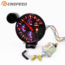 <b>Free Shipping CNSPEED</b> 80MM 7 Color Auto Tachometer Gauge 0 ...