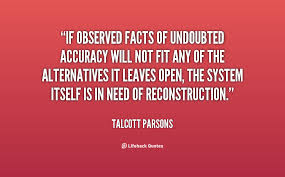 If observed facts of undoubted accuracy will not fit any of the ... via Relatably.com