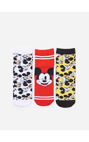 <b>Носки Mickey</b> Mouse, 3 пары, HOUSE, YD107-MLC