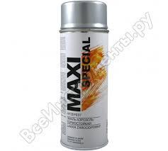 Термостойкая <b>эмаль</b>-<b>аэрозоль</b> MOTIP <b>MAXI</b> COLOR серебро ...
