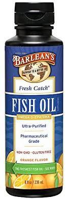 Barlean's Organic Oils Fresh Catch Fish Oil, Orange ... - Amazon.com