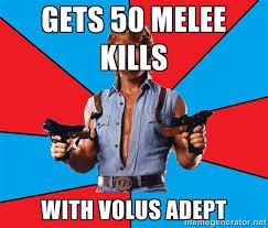 gets 50 Melee Kills With Volus Adept - Chuck Norris | Meme Generator via Relatably.com