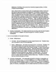 te crimlaw ma murder mitigation new criminal law essay  image of page 3