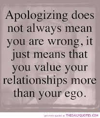 Apology Quotes on Pinterest | Apologies Quotes, Apologizing Quotes ...