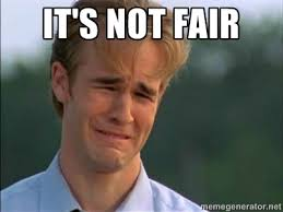 It's not fair - James Van Der Beek | Meme Generator via Relatably.com