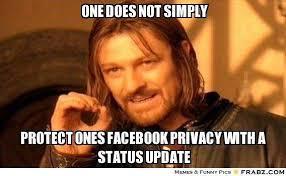 Facebook responds to privacy meme hoax | TG Daily via Relatably.com
