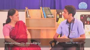 interview mrs indira varma vice principal of smis interview mrs indira varma vice principal of smis