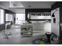 kitchen island integrated handles arthena varenna: fitted kitchen with integrated handles fun snaidero