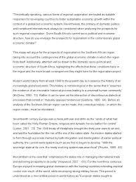 regionalism essay south africa
