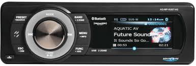Aquatic <b>AV</b> SirusXM, Bluetooth, <b>USB Waterproof</b> Stereo   Mozaic ...
