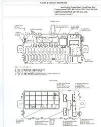 2005 honda fuse box diagram 2005 wiring diagrams