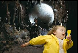 Whats this little girl running away from? via Relatably.com