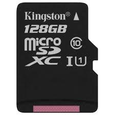 Купить <b>Карта памяти</b> SDHC Micro <b>Kingston 128GB</b> Canvas Select ...