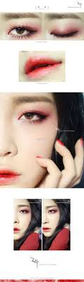 eye grant grant lips tutorial red eyeshadow tutorial korean makeup tutorial eyeshadows geisha makeup tutorial grant makeup korean grant
