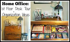 innovative office organization ideas home office 1st floor desk tour amp organization ideas youtube chic organized home office