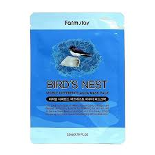<b>Тканевая маска</b> FarmStay Visible Difference Bird's Nest Aqua Mask ...
