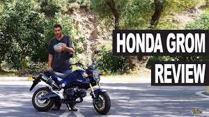 <b>Honda Grom</b> Review (<b>MSX 125</b>) - YouTube