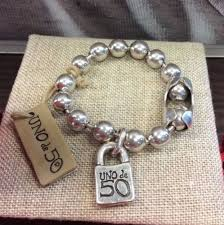 <b>Uno de 50</b> Snowflake Bracelet With Packaging PUL1215MTL0000M ...