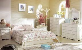 creative of shabby chic bedroom interior design with floral duvet cover and classy wallpaper also wooden bedroom furniture shabby chic