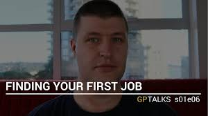 finding your first job gptalks se finding your first job gptalks s01e06