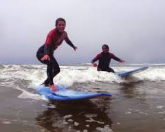 BILLABONG VAN CURAZA SURF SCHOOL