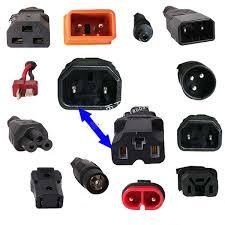 Charger Battery Plug adaptor eBike Power Cord Conversion <b>3 Pin T</b> ...