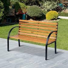 Barrowden Outdoor Wooden <b>2 Seater Garden Bench</b> Patio Furniture ...