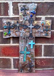 iron wall cross love: love this large rustic distressed wood wall cross of crosses exclusively from totally crosses designed and handcrafted by oklahoma artisan tc