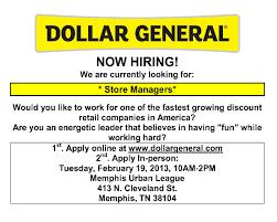dollar general job fair memphis urban league job dollar general job fair at memphis urban league flyer 020413 2 1