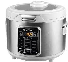 <b>Мультиварка VITEK VT-4281</b> W, серебристый/белый, отзывы ...