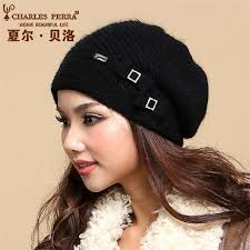 <b>Charles Perra</b> 2019 NEW Women <b>Hats</b> Winter Thicken Double ...