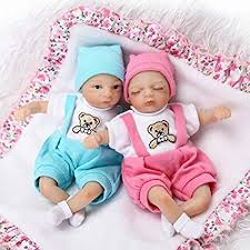 Buy Pinky <b>20cm 8</b> Inch <b>Mini</b> Reborn Baby <b>Palm</b> Doll Hard Vinyl ...