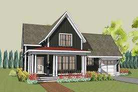 Hudson Farmhouse Plan  Unique Farmhouse Home Design    Hudson Farmhouse Plan   front image