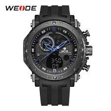 <b>WEIDE Fashion Men Sport</b> Alarm Repeater Quartz Digital Military ...