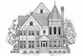 Eplans Queen Anne House Plan   Old School Victorian Charm      Front