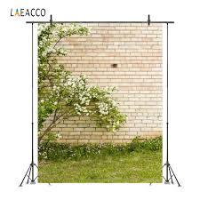 <b>Laeacco</b> Beautiful Flowers Stone <b>Wall</b> Portrait Grunge Photography ...