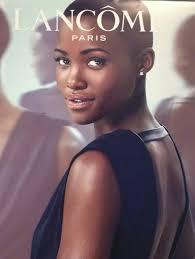 Lupita Nyong'<b>o for Lancôme</b> Paris.   Beautiful dark skin, Dark skin ...