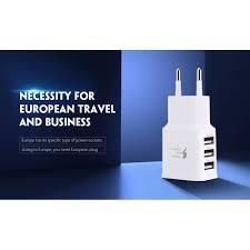 <b>gocomma Universal 2A</b> 3 USB Ports Multifunctional Travel Charger ...