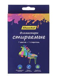 Купить Упаковка <b>фломастеров SILWERHOF Цветландия</b> 867220 ...