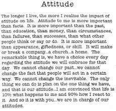 your attitude determines your altitude essay