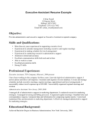 sample executive assistant resume objective  seangarrette cosample resume objective for research assistant executive assistant resume example   sample executive assistant resume
