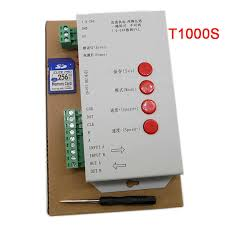 <b>LED T1000S</b> 128 SD Card Pixels <b>Controller</b>,<b>DC5</b>~<b>24V</b>,for WS2801 ...