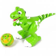 <b>Радиоуправляемый интерактивный</b> динозаврик Jiabaile <b>Dinosaur</b>
